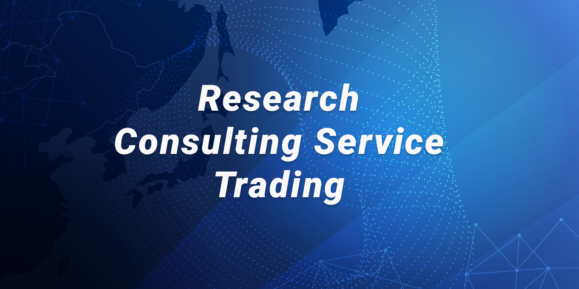 Research and Consulting service